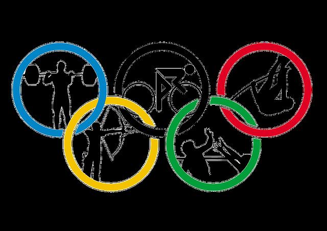 ▲ 2016년 브라질 리우데자네이루 올림픽 로고 자료사진. ⓒpixabay.