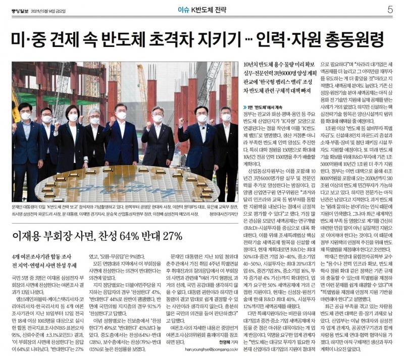 ▲ 14일 중앙일보 경제면